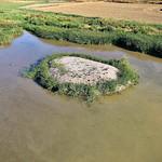 Fotos de dron de las lagunas de La Guardia (Toledo)  18-6-2020 y 13-8-2020