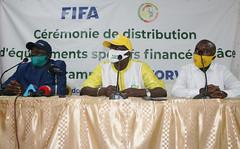 Cérémonie de distribution d'équipements sportifs - KEDOUGOU