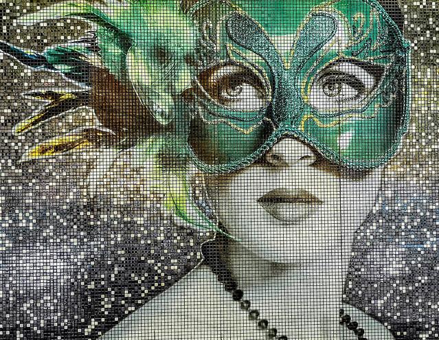 Photo:Mosaico cerámico en Valencia - Arte Urbano en Valencia - Museo Abierto 24 horas y 365 días al año By Antonio Marín Segovia