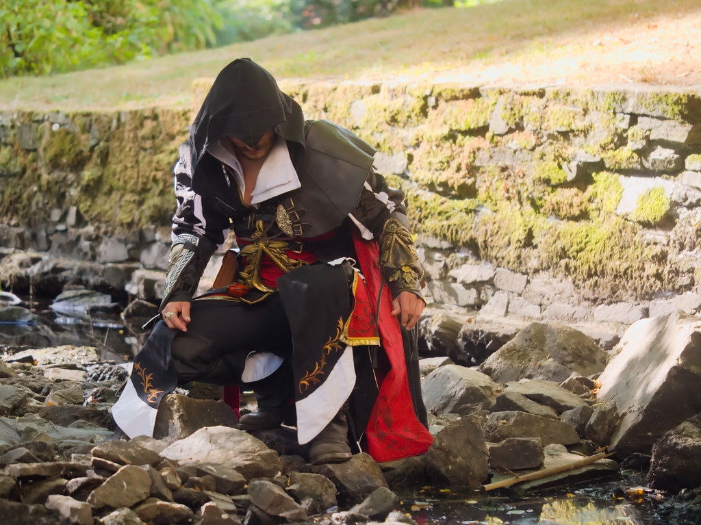 related image - Shooting Ezio Auditore - Assassin's Creed - Max Ander - Montaigu -2020-08-06- P2233177