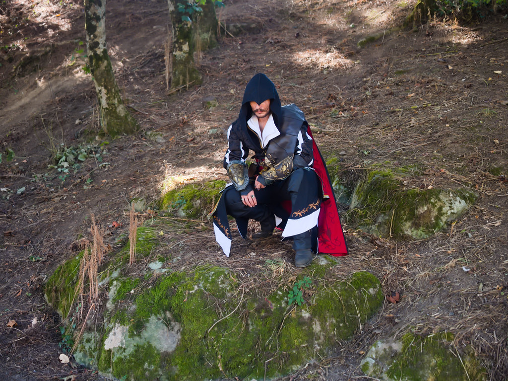 related image - Shooting Ezio Auditore - Assassin's Creed - Max Ander - Montaigu -2020-08-06- P2233246