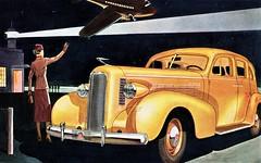 1937 LaSalle Model 37-50 Four Door Touring Sedan