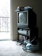 Television in an apartment