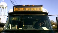 """WELCOME POPE BENEDICT"""