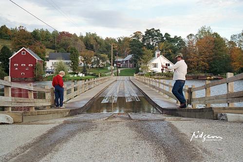 Floating Bridge, Brookfield, VT
