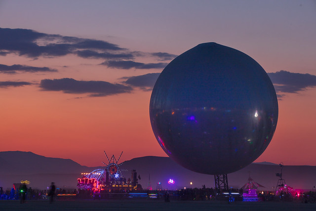 Photo:The ORB by: Bjarke Ingels, Jakob Lange, and I, Orbot By Duncan Rawlinson - Duncan.co