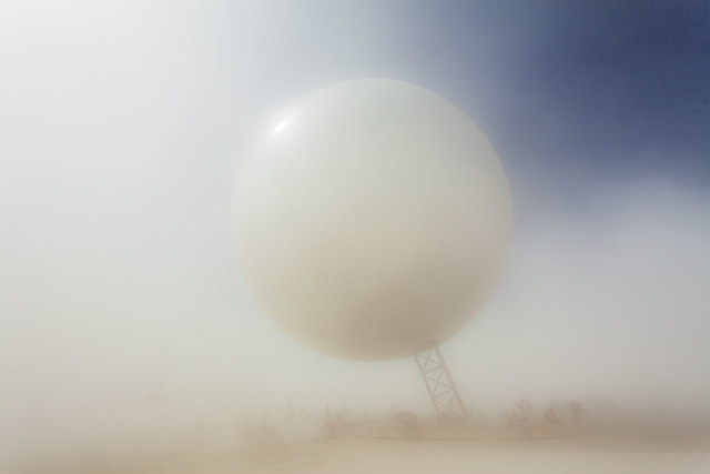 Photo:The ORB by Bjarke Ingels, Jakob Lange, and I, Orbot By Duncan Rawlinson - Duncan.co