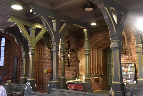 Johannes-Kirche - Säulen; Meldorf, Dithmarschen (74)