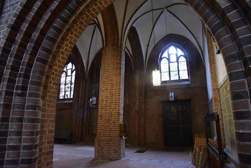 Johannes-Kirche - Säulen; Meldorf, Dithmarschen (75)