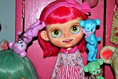 Gertie Pink Grapefruit - ScrumptiousDelightBlythe Custom