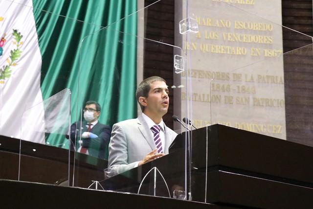 14/09/2020 Tribuna Diputado Francisco Elizondo