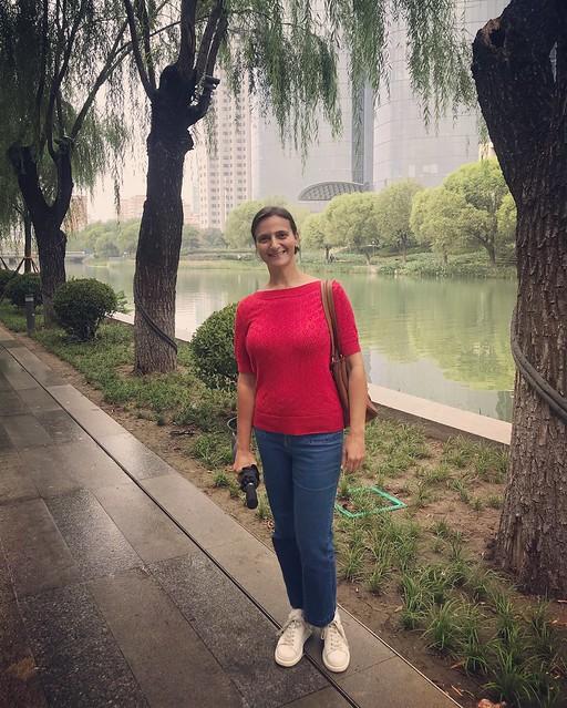 Walking along the Liangmahe