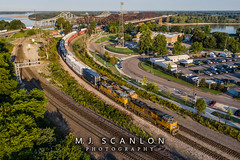 UP 9091 UP 8899 | EMD SD70AH | UP Memphis Subdivision