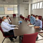 Reunião com Demétrio Oliveira e diretoria do Hospital Aristides Maltez - Setembro/2020
