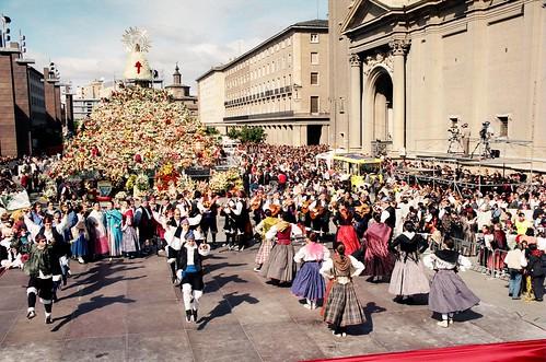 Plaza del Pilar 1998