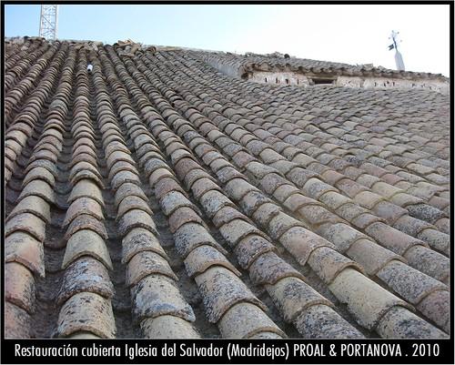 PROALyPORTANOVA = RESTAURACION CUBIERTA IGLESIA DEL SALVADOR - Madridejos