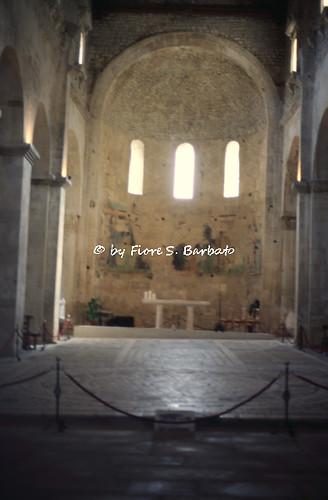Serramonacesca (PE), 1997, Abbazia di San Liberatore a Majella.