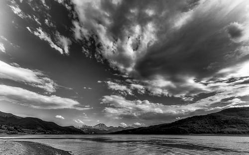 ... sul lago di Campotosto (01) ...