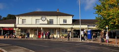 London and Southampton Railway train station, opened 1839 - Winchester, Hampshire, England.