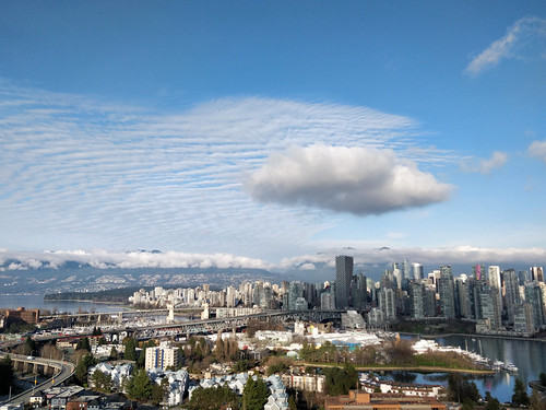 Cool clouds above Vancouver