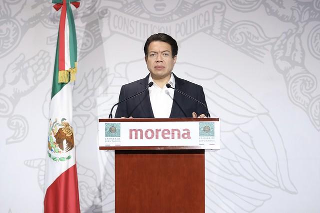 15/09/2020 Conferencia De Prensa Diputado Mario Delgado