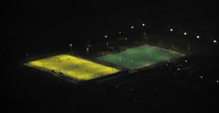 Football at night