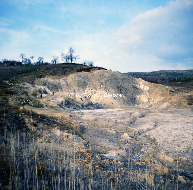 Photo:Rocca San Felice (AV), 1980, La Mefite. By Fiore S. Barbato