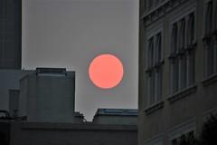 Smokey San Francisco Sunset