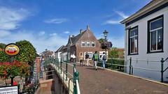 Groningen: Winsum, bridge De Boog