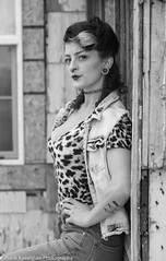 Photo Shoot - Destiney at the Annual Rockabilly Shoot