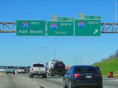 I-30 & I-820 in Fort Worth, 30 Dec 2019