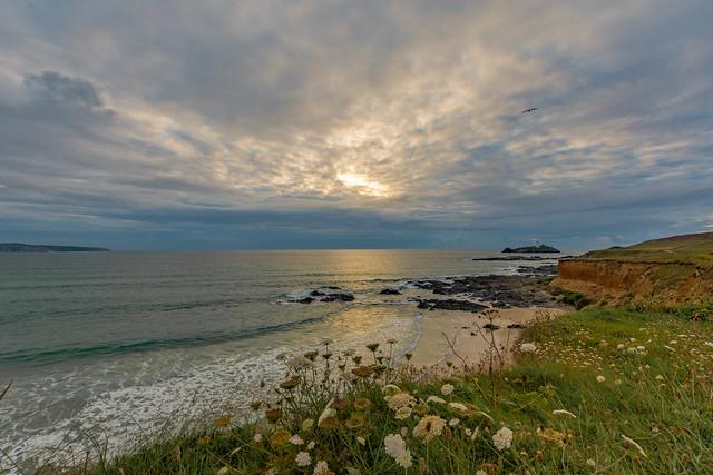 St Ives bay & Godrevy Lighthouse