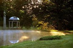 """Cincinnati - Spring Grove Cemetery & Arboretum """"Morning Burn At DeCastro Mausoleum"""""""