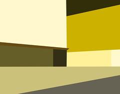Empty City Abstract