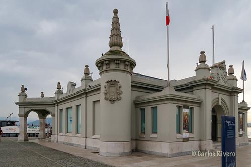 Palacete del embarcadero. Santander.