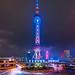 Oriental Pearl Tower, Shanghai.