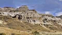 Badlands, Red Deer River Valley, Dinosaur Provincial Park, Alberta.