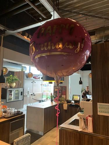 Folieballon Verjaardag Watertuin Spijkenisse