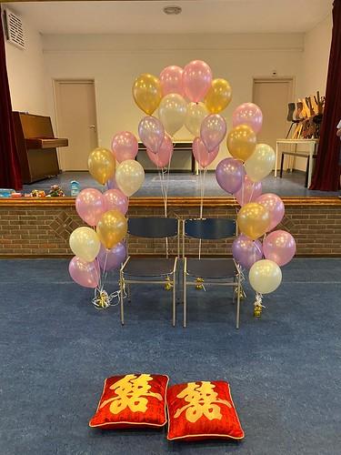 Heliumballonnen Schotse Kerk Rotterdam