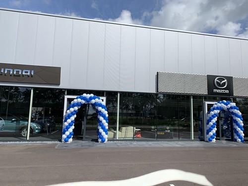 Ballonboog 6m Mazda Hyundai dealer Autobedrijf Kooy Oud Beijerland