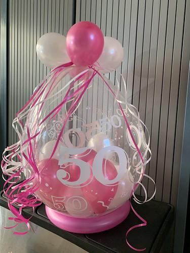 Kadoballon Verjaardag 50 Jaar Sarah