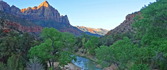 Sunrise  on The Watchman, Zion NP 2014