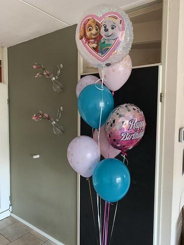 Ballonboeket Verjaardag Paw Patrol
