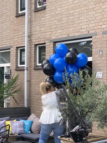 Heliumballonnen Blauw Zwart