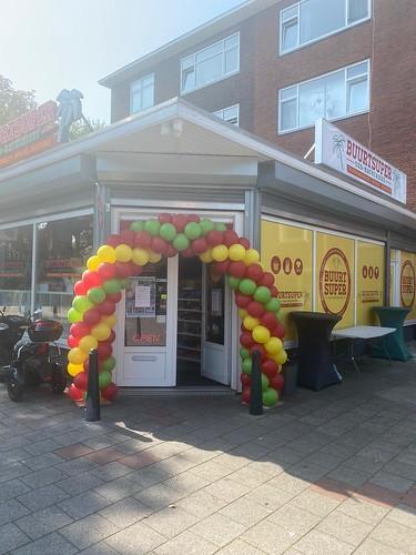 Ballonboog 6m Buurtsuper Oud Mathenesse Rotterdam