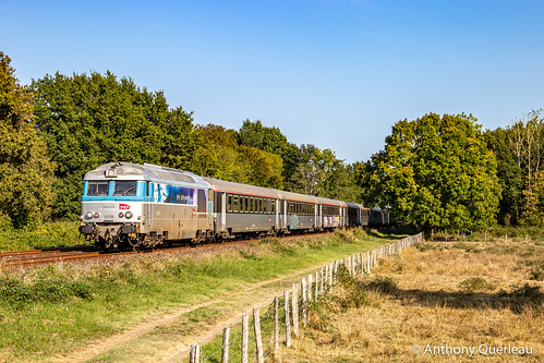 17 septembre 2020 BB 67455 Train 722121 Périgueux -> Bordeaux Coutras (33)