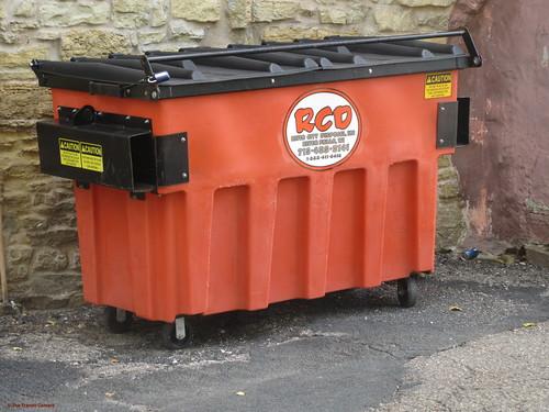 River City Disposal Dumpster
