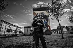 Le graffiti Tour à Morlaix MX29.