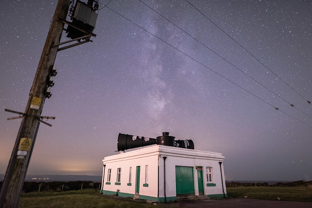Foghorn at Nashpoint with the Milkyway.