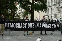 Democracy Dies In A Police State